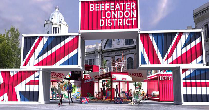 Beefeater london district felipao art - Tapicerias gancedo outlet ...